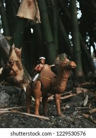 Yogyakarta,Indonesia - 1 November 2018 : Toy Photograpy