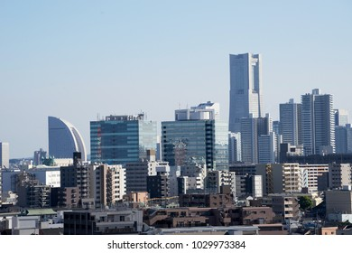 Yokohama cityscape, Kanagawa, Japan