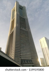 YOKOHAMA, JAPAN - August 24, 2018 : Landmark Tower is located in the Minato Mirai 21 district in Yokohama city.