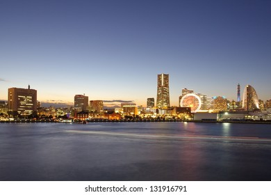 Yokohama Japan Night View