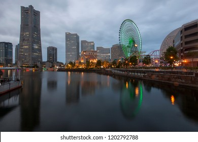 Yokohama, a Japanese city south of Tokyo, was one of the first Japanese ports opened to foreign trade, in 1859. It contains a large Chinatown with hundreds of Chinese restaurants and shops.