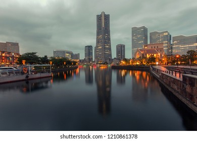 Yokohama, a Japanese city south of Tokyo, was one of the first Japanese ports opened to foreign trade, in 1859. It contains a large Chinatown with hundreds of Chinese restaurants and shops