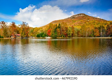 Yonah Mountain in the Chattahoochee-Oconee National Forest of North Georgia, USA.