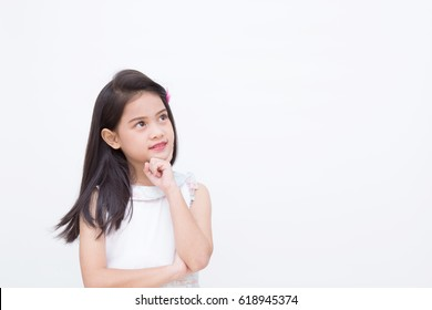 girl thinking images stock photos vectors shutterstock