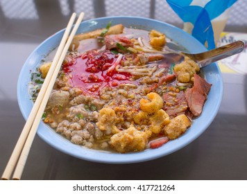Yong Tau Foo noodle - Chinese cuisine.
