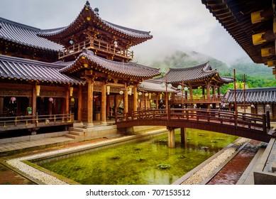 Yong-in, MBC-Daejanggeum Park Historical Drama in South Korea.
