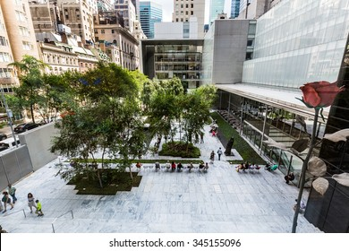 ?NEW YORK - AUGUST 23: Inside views of the Museum of modern art in New York on August 23, 2015. This is one of the most popular and famous museums worldwide for modern art.