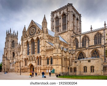 York City North England 25th September 2014 York Minster also known as York Cathedral and the church of Saint Peter of York.