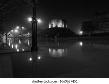 York, flooded River Ouse