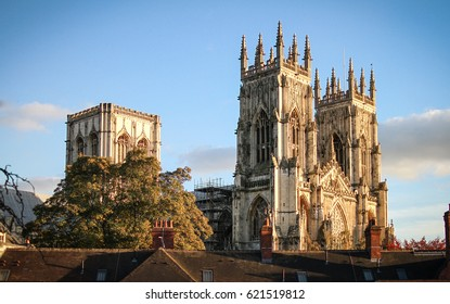 York minister, the largest gothic cathedral in Northern Europe