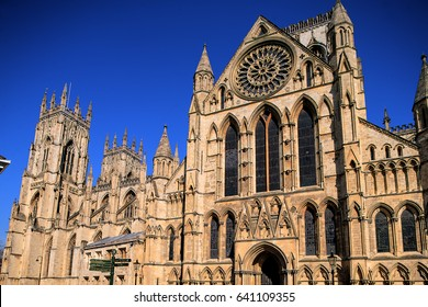 York Minster Cathedral. Great Britain.