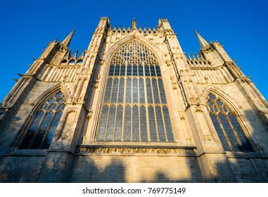York Minster East transept window which has recently been refurbished