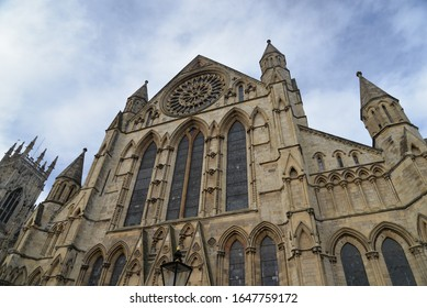 York Minster (The Cathedral and Metropolitical Church of Saint Peter in York), the cathedral of York in Yorkshire, Northeast England, United Kingdom, Europe
