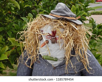 York UK September 20th 2018 scarecrow from the palpation scarecrow festival
