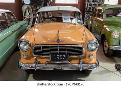 York, WA - Australia 11-16-2020. 1957 Holden FE on display at the York Motor Museum.