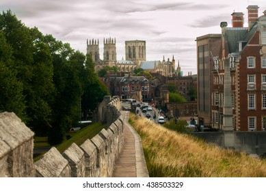 York walls England beautiful cityscape
