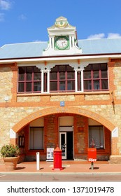 YORK, WESTERN AUSTRALIA - November 19, 2015. Front view of historic Australian Post Office building in the oldest town of Western Australia.