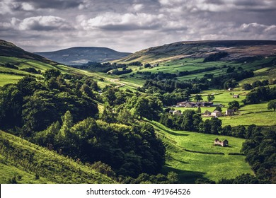 yorkshire dales england uk.