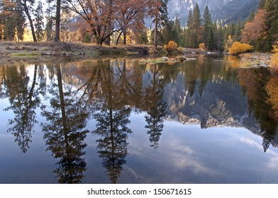 Yosemite Autumn Reflection