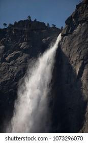 Yosemite Falls during high water