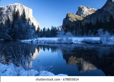 Yosemite Valley is an iconic American destination. This beautiful valley is home to some of California's most scenic hikes and is also hugely popular among rock climbers.