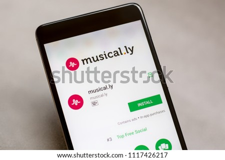 Yoshkar Ola Russia JUNE 21 2018 Musical Stock Photo (Edit Now