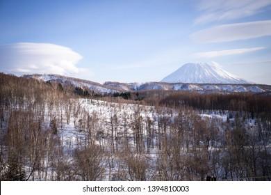 Yothin mountain, Fuji mountain of Hokkaido