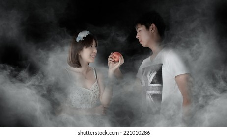 """You are the apple of my eye"""" Apple of My Eye"""