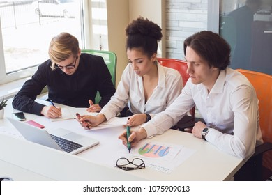 If you care about what you do and work hard at it, there is not anything you can not do if you want to! Freelancers working together, while using advanced technologies and printed diagrams.