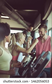 You are so good. People at the gym workout exercise.