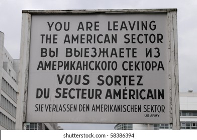 YOU ARE LEAVING ..., Berlin, Germany