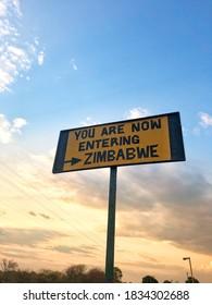 You are now entering Zimbabwe