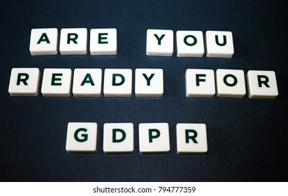 Are You Ready for General Data Protection Regulation (GDPR) Board Game Tiles