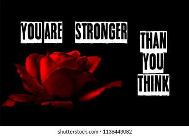 you are stronger than you think letters