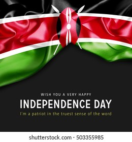 With you a Very Happy Kenya Independence Day. I'm a Patriot in the truest sense of the word