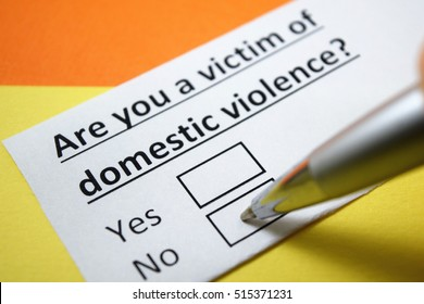 Are you a victim of domestic violence? No.
