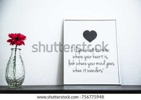 You Want Know Where Your Heart Stock Photo Edit Now 756775948