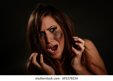 Image result for scared woman