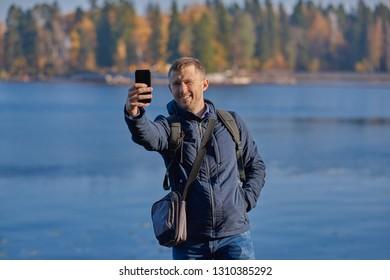 Selfie River Images, Stock Photos & Vectors | Shutterstock