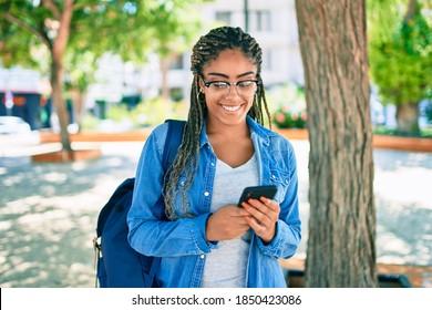 Американская Студентка Негритяночка