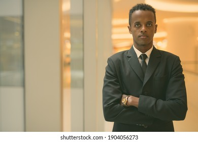 Young African businessman exploring the city of Bangkok, Thailand