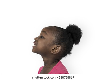 Side Profile Little Girl Images Stock Photos Vectors Shutterstock