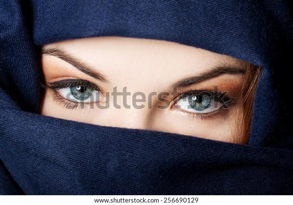 Young arabian woman in hijab