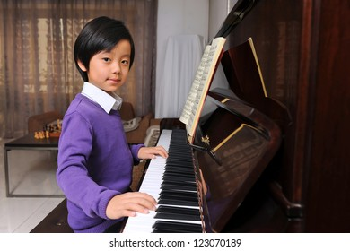 Necessary words... asian pianist young boy