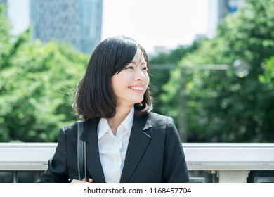 Young Asian Business woman