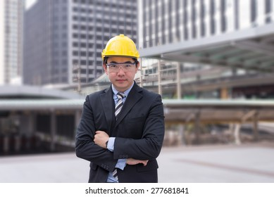 young asian engineer
