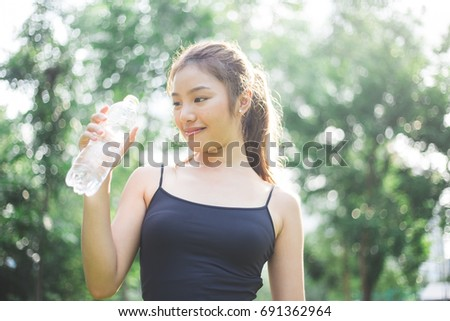 Asian mineral water