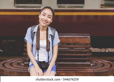 Young Asian Travler
