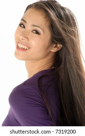 A young asian woman