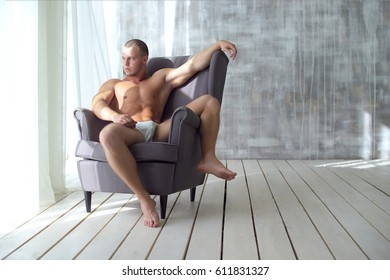 Young athlete in chair
